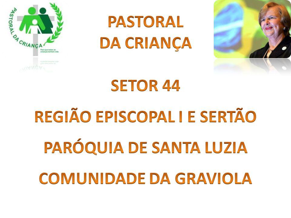 REGIÃO EPISCOPAL I E SERTÃO PARÓQUIA DE SANTA LUZIA