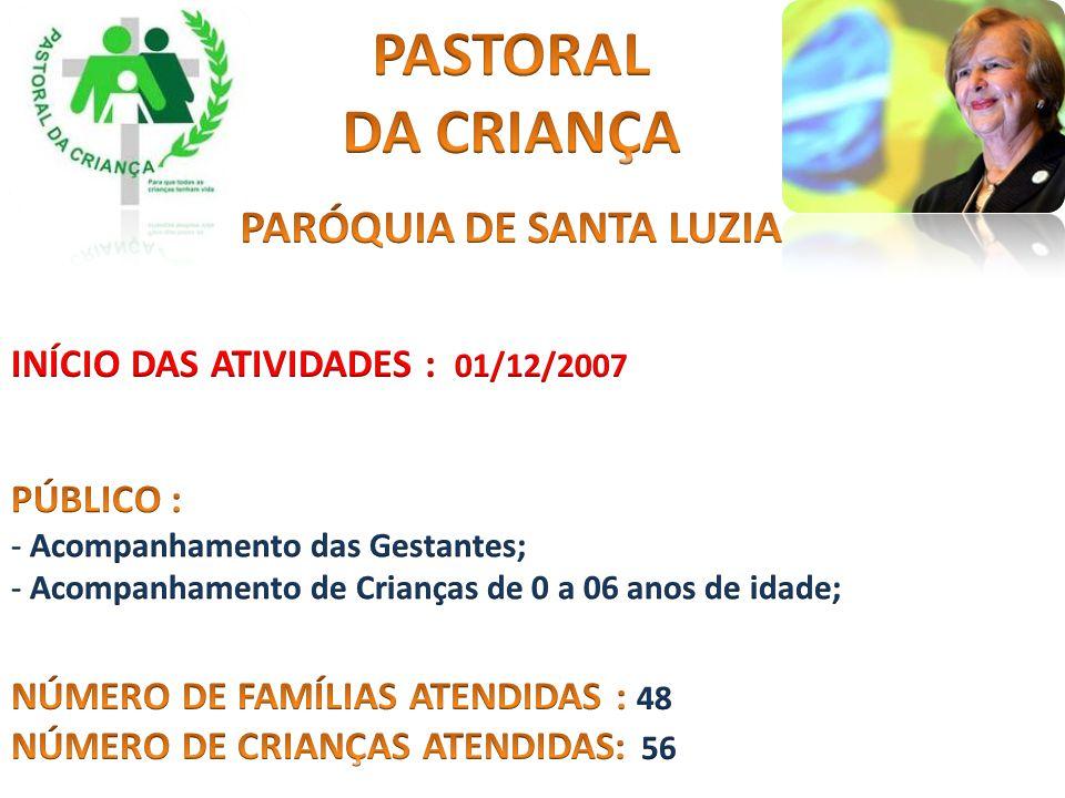 PARÓQUIA DE SANTA LUZIA