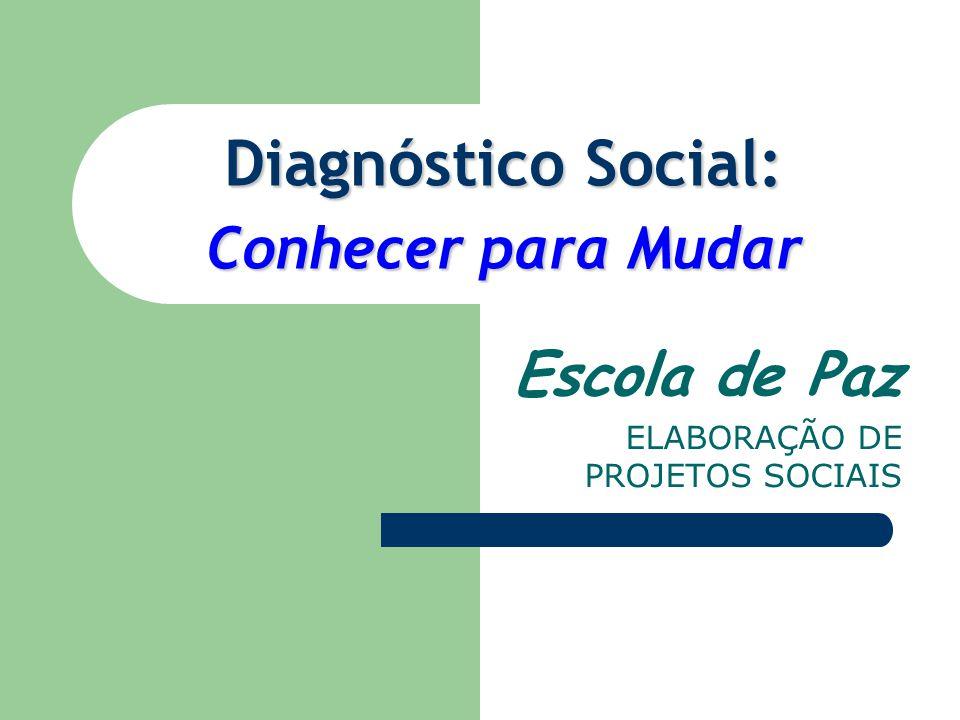 Diagnóstico Social: Conhecer para Mudar