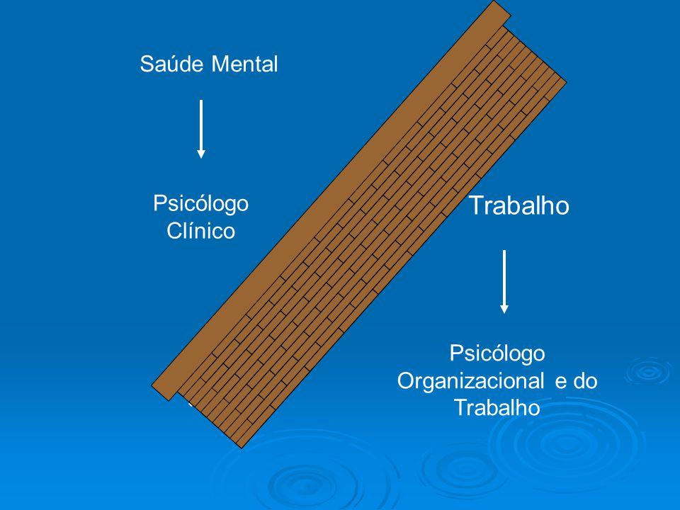 Psicólogo Organizacional e do Trabalho