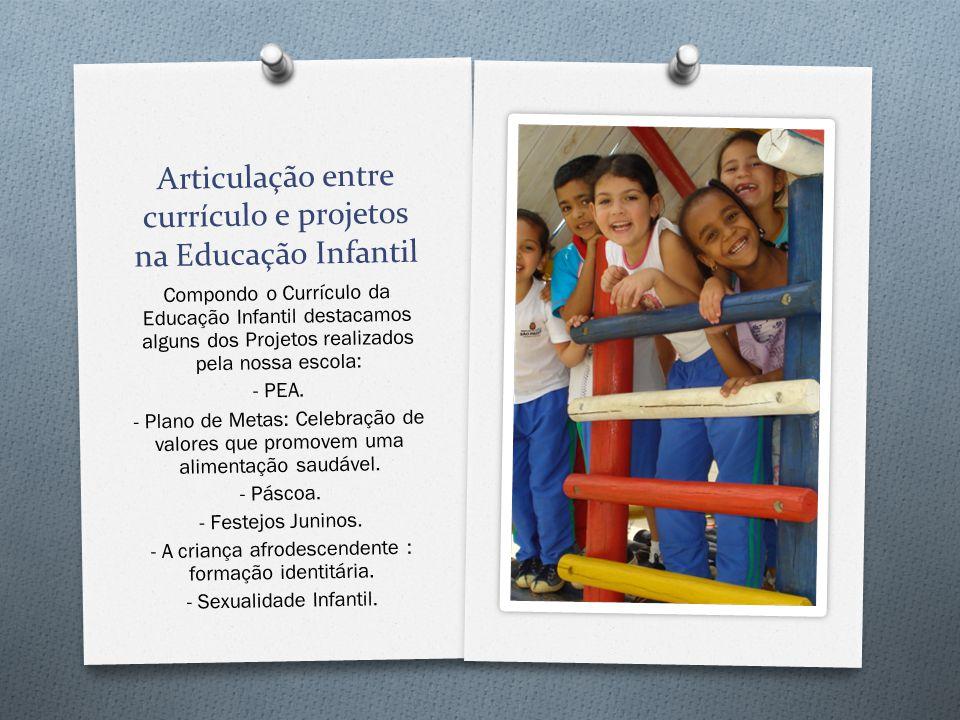 Articulação entre currículo e projetos na Educação Infantil