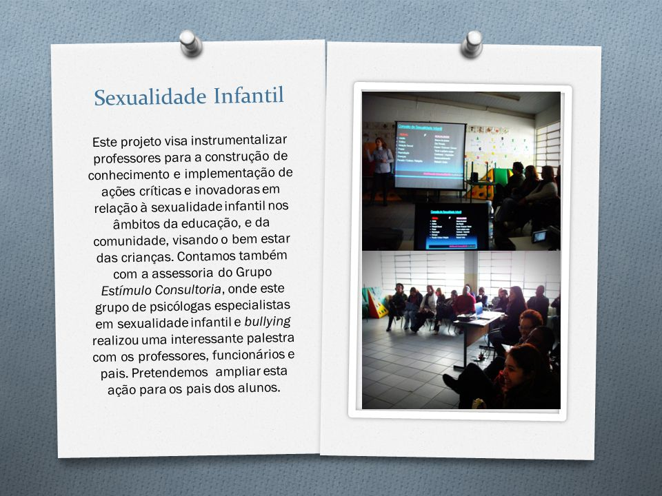 Sexualidade Infantil