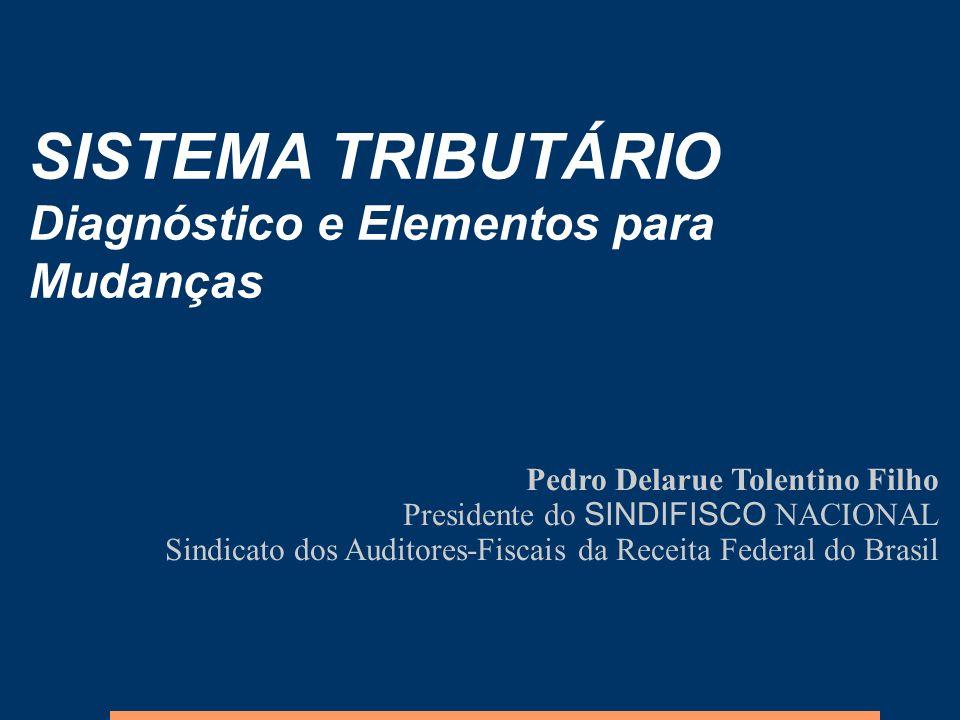 SISTEMA TRIBUTÁRIO Diagnóstico e Elementos para Mudanças