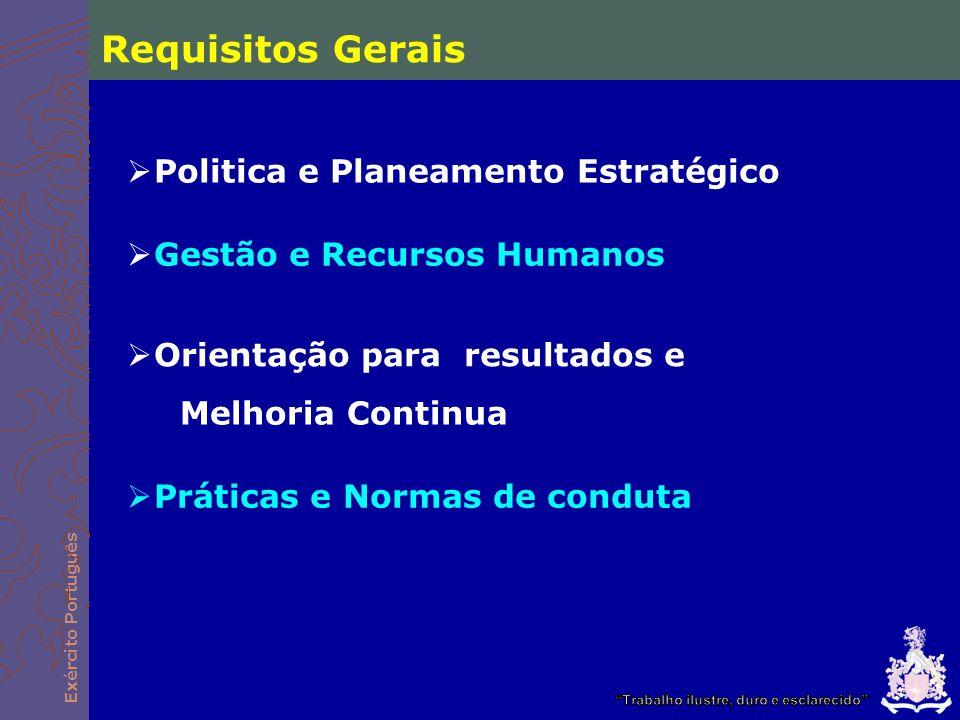 Requisitos Gerais Politica e Planeamento Estratégico