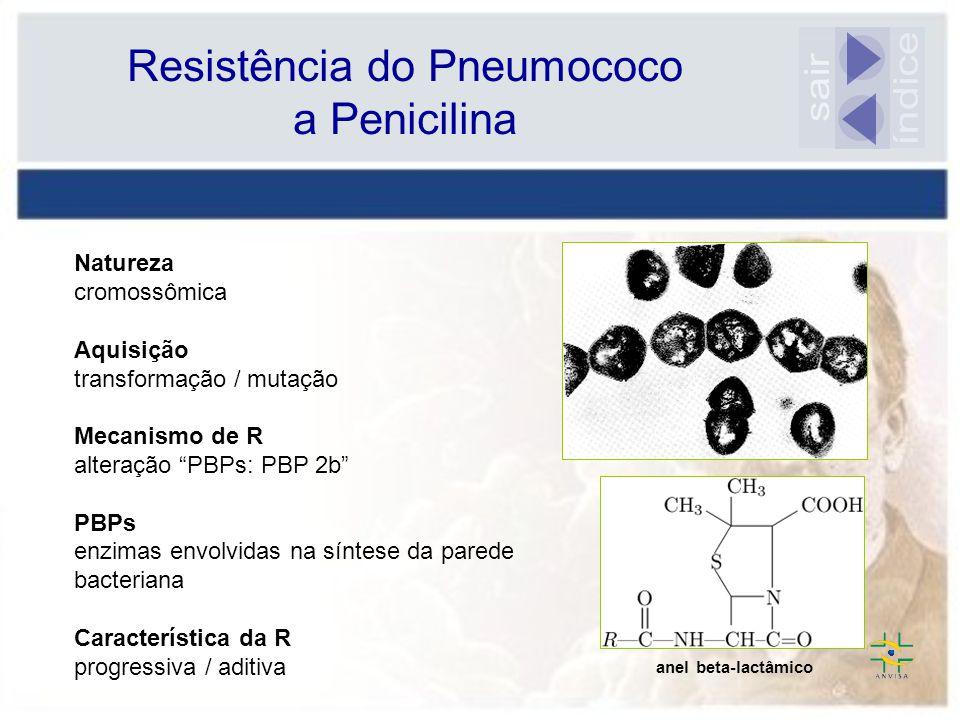 Resistência do Pneumococo a Penicilina