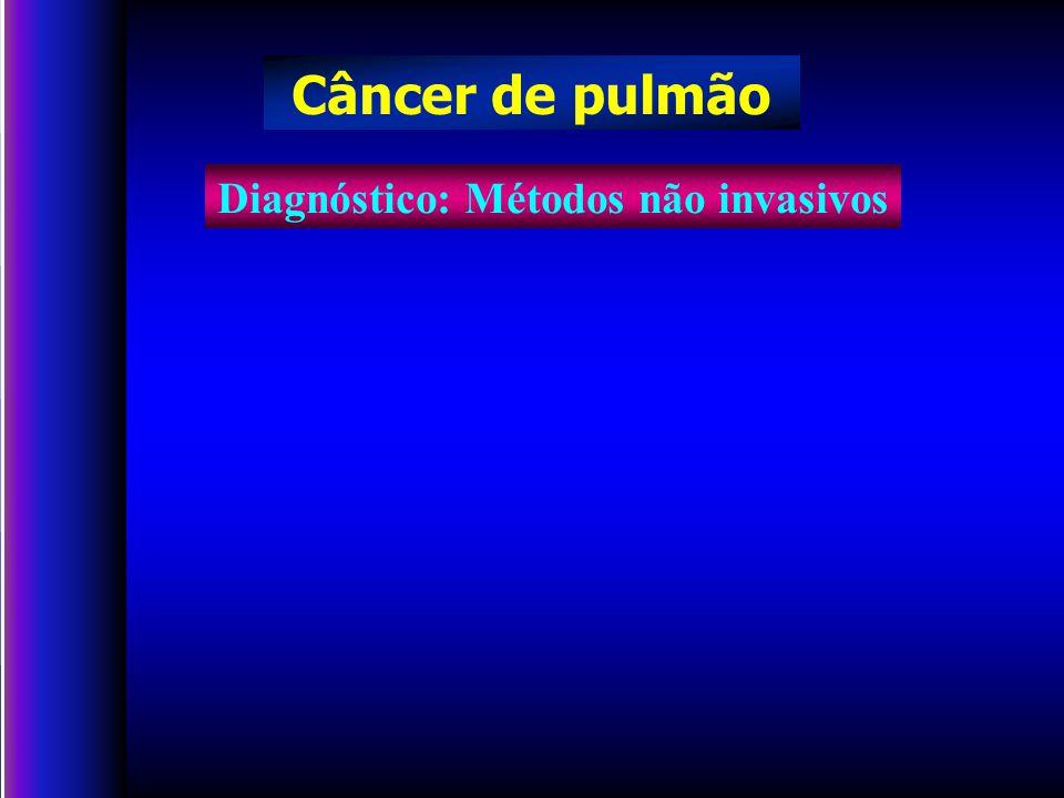 Diagnóstico: Métodos não invasivos