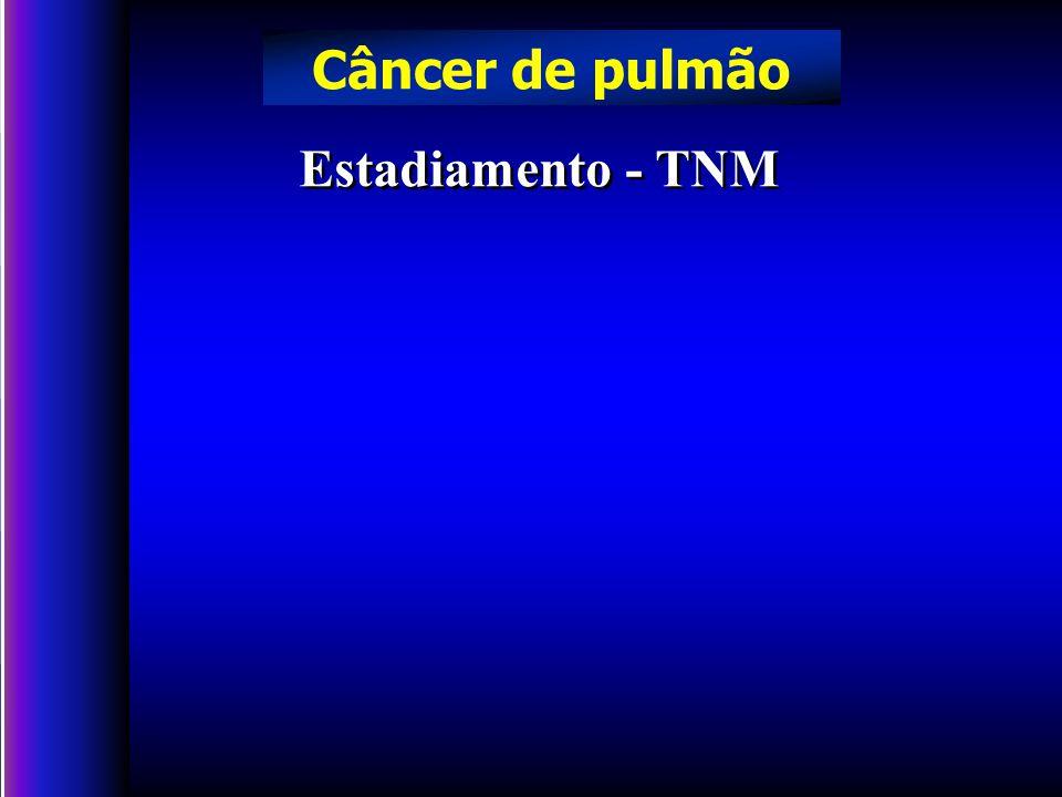 Câncer de pulmão Estadiamento - TNM