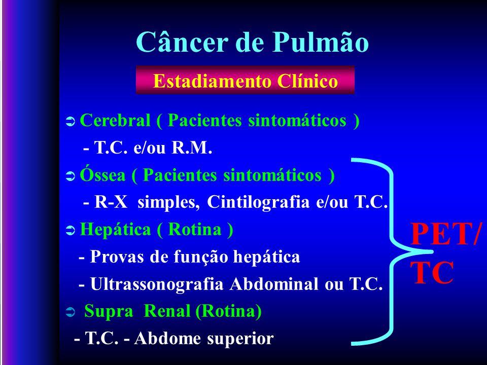PET/ TC Câncer de Pulmão Estadiamento Clínico