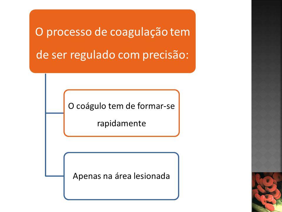 O processo de coagulação tem de ser regulado com precisão: