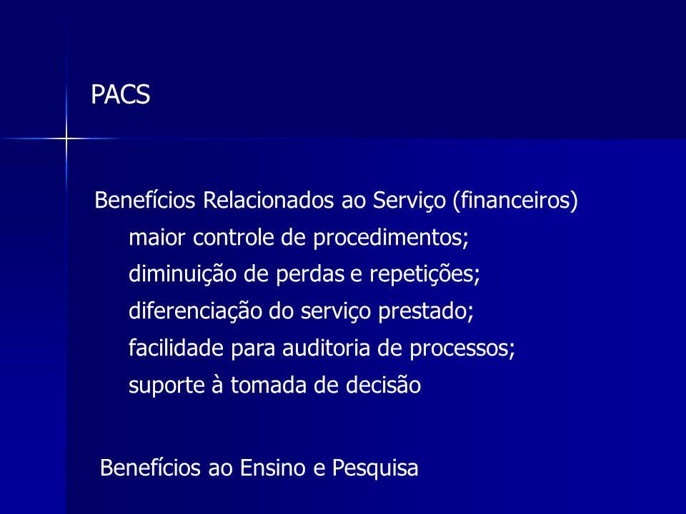 PACS Benefícios Relacionados ao Serviço (financeiros)