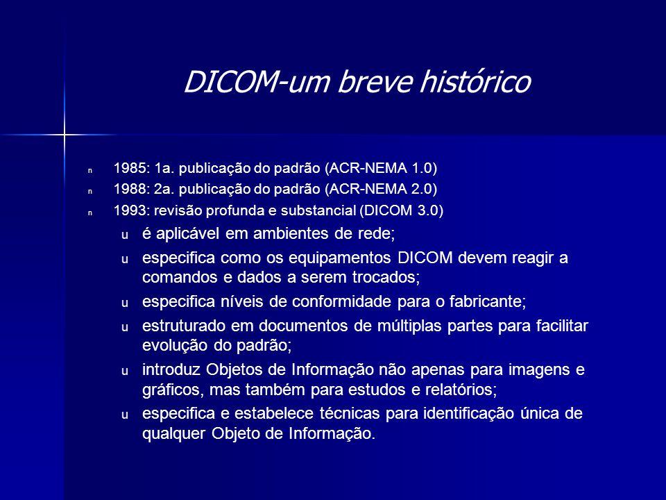 DICOM-um breve histórico