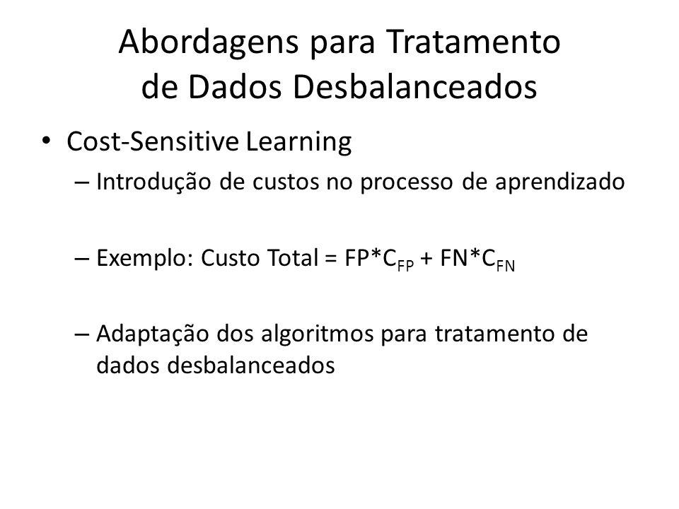 Abordagens para Tratamento de Dados Desbalanceados