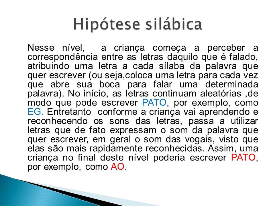 Hipótese silábica