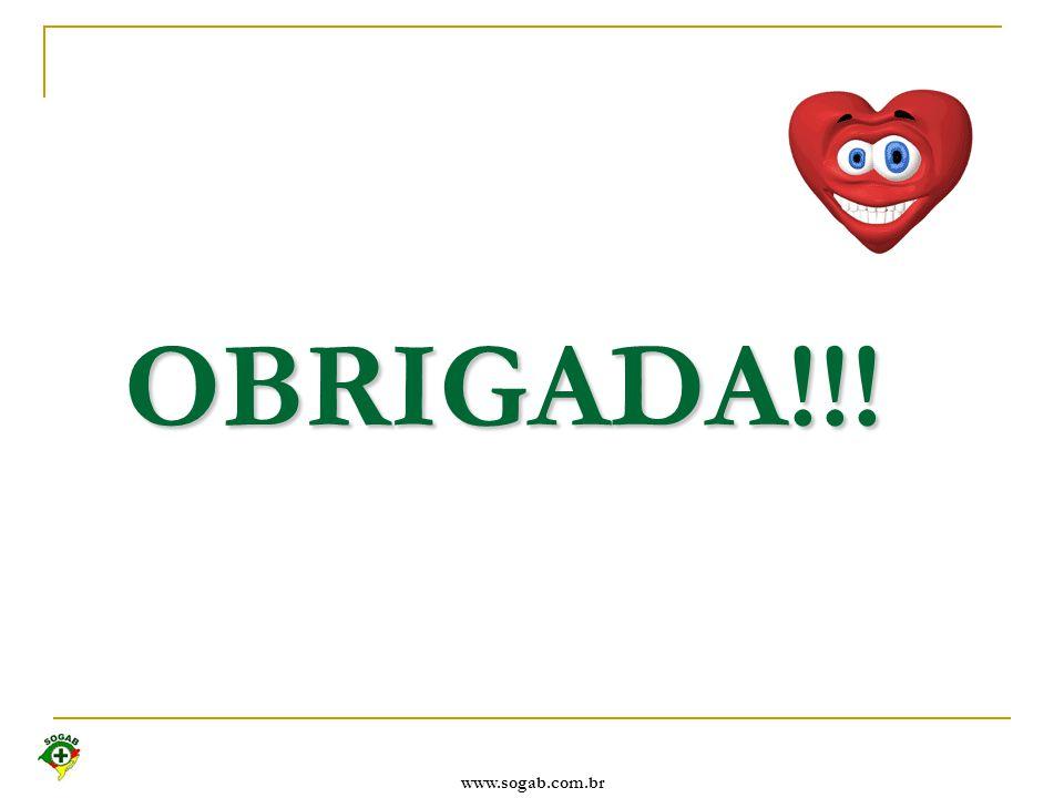 OBRIGADA!!! www.sogab.com.br