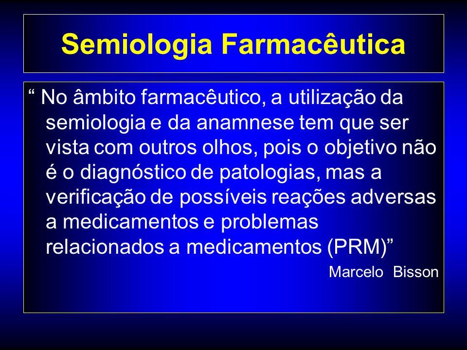 Semiologia Farmacêutica