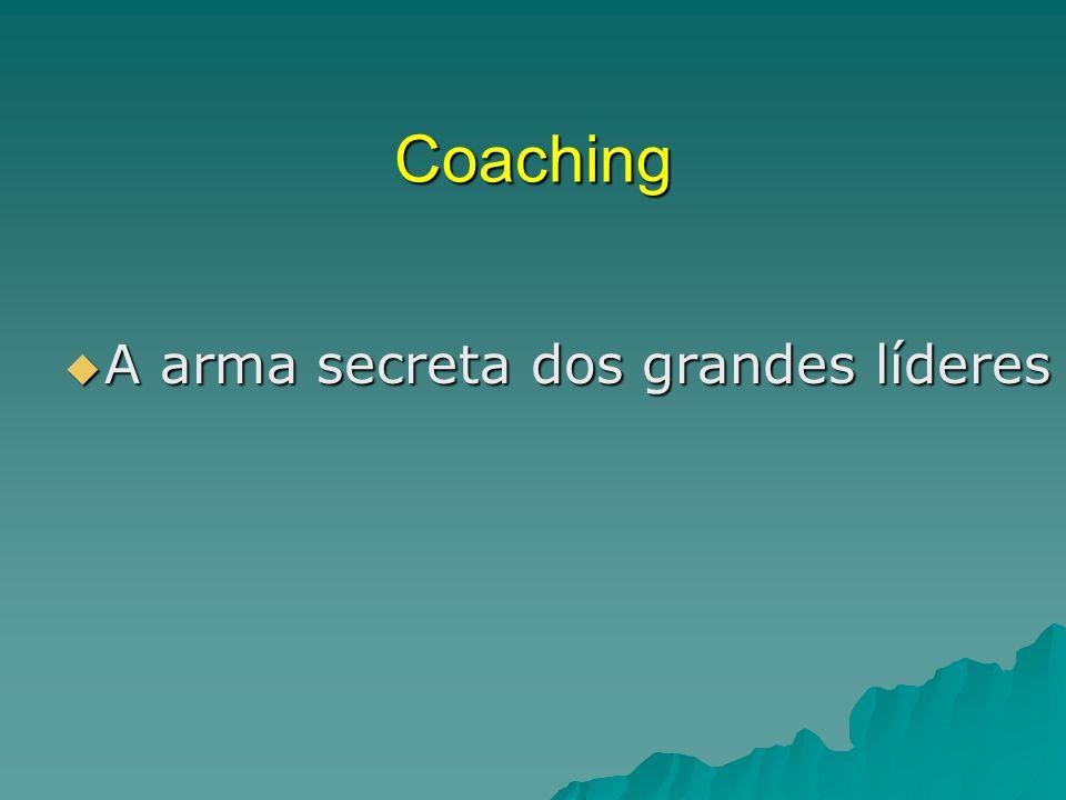 Coaching A arma secreta dos grandes líderes