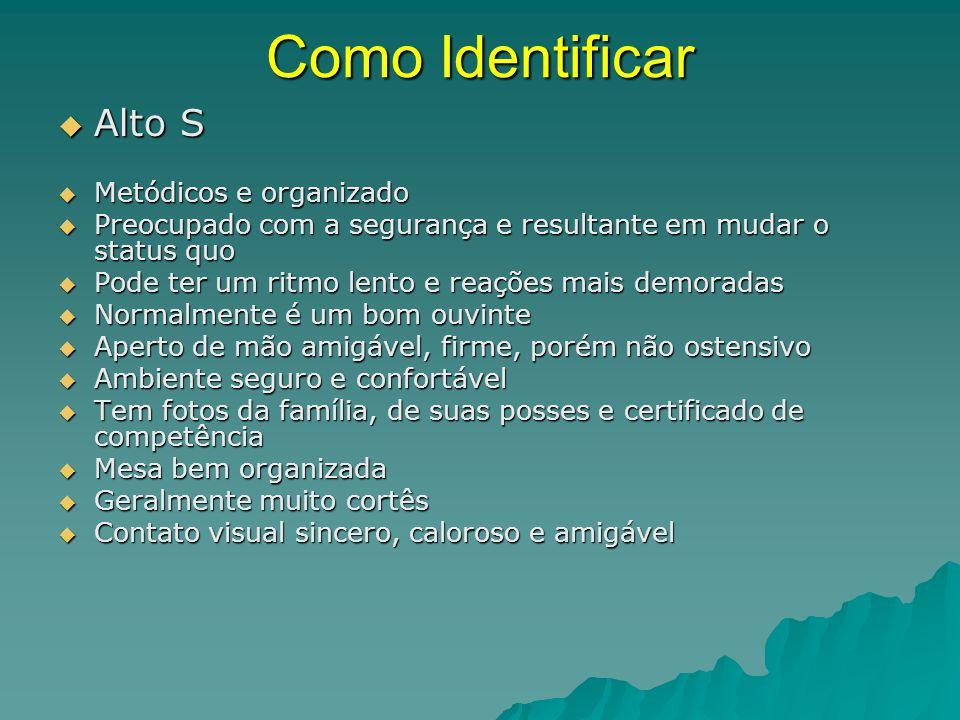 Como Identificar Alto S Metódicos e organizado