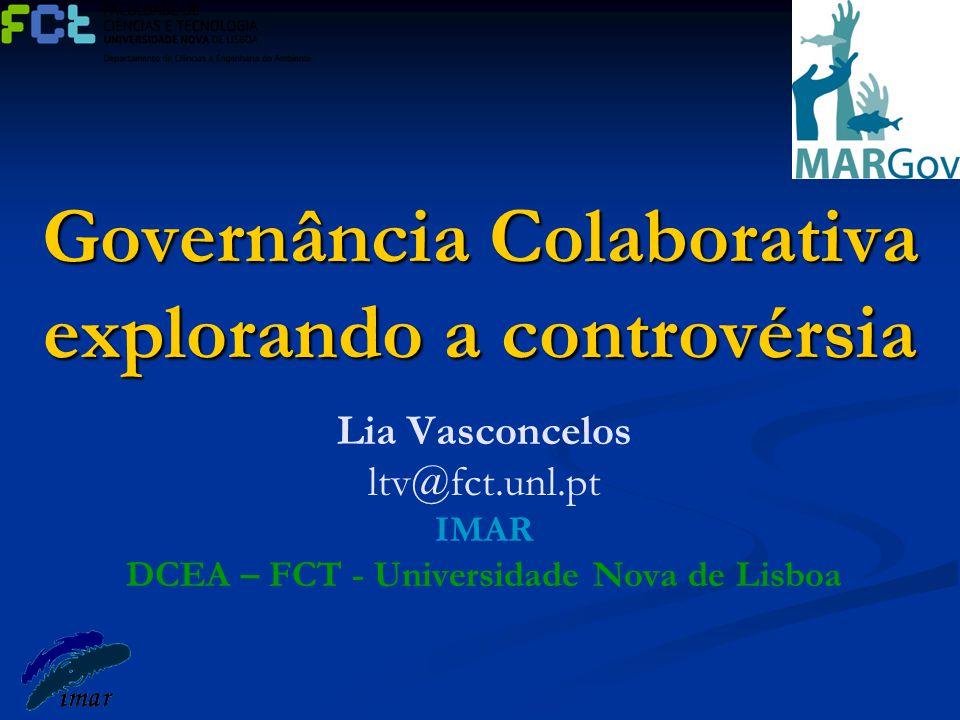 Governância Colaborativa explorando a controvérsia