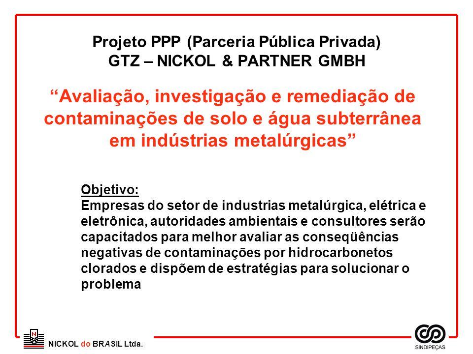 Projeto PPP (Parceria Pública Privada) GTZ – NICKOL & PARTNER GMBH