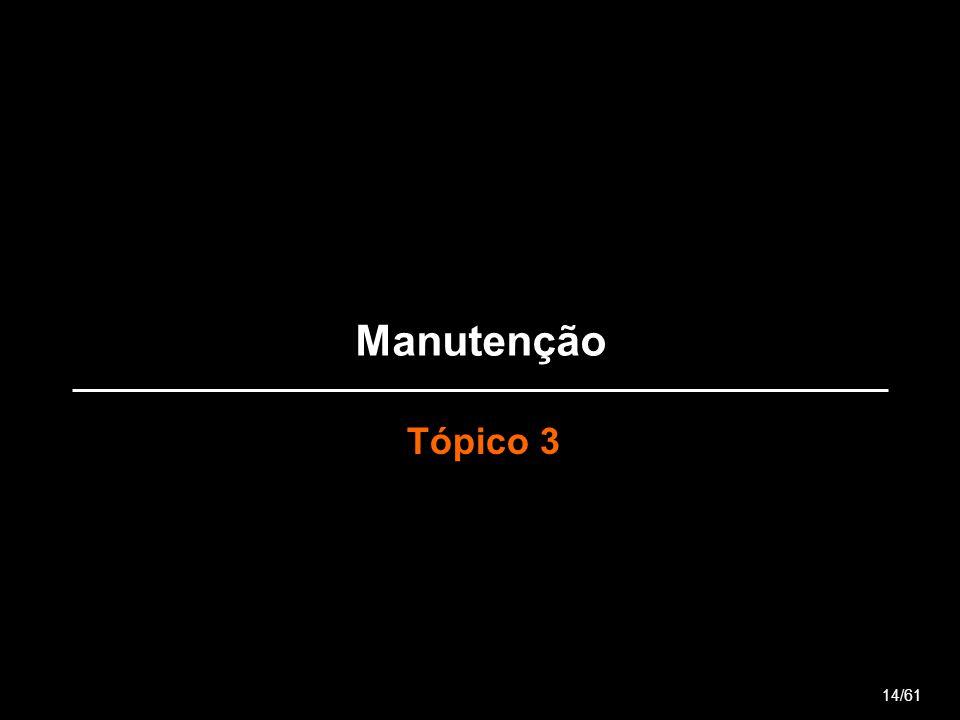 Manutenção Tópico 3 14/61