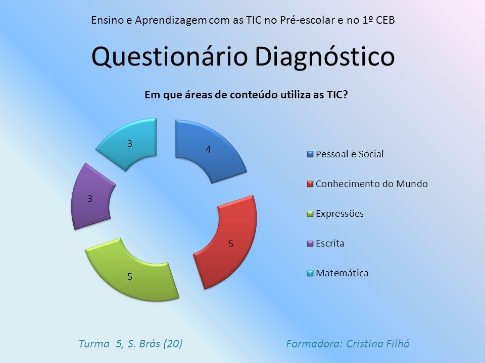 Questionário Diagnóstico
