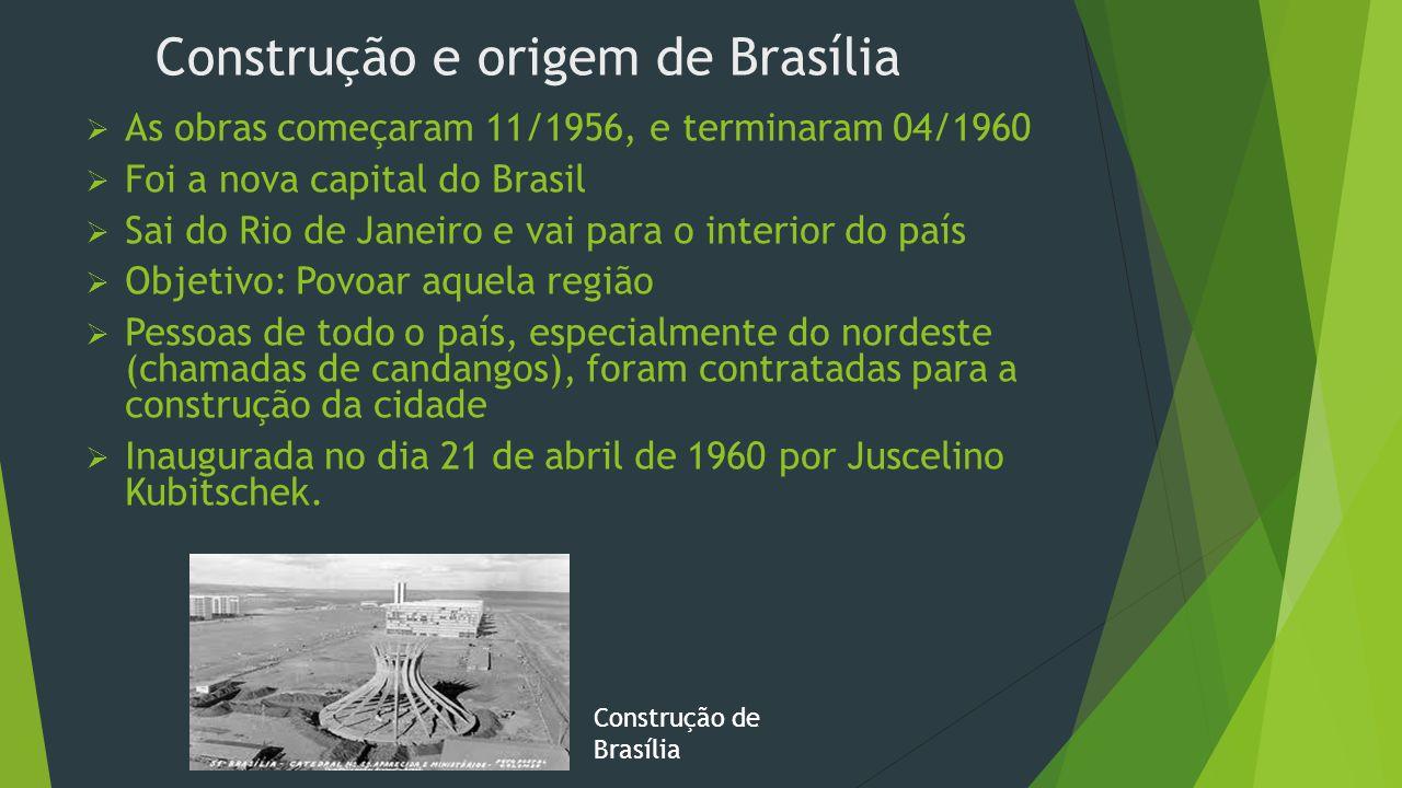 Construção e origem de Brasília