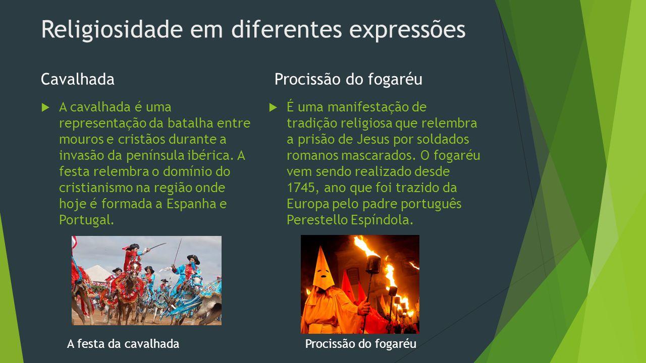 Religiosidade em diferentes expressões