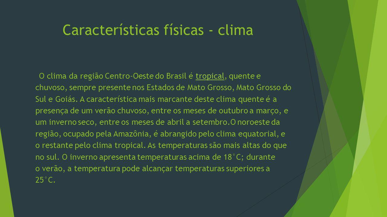 Características físicas - clima