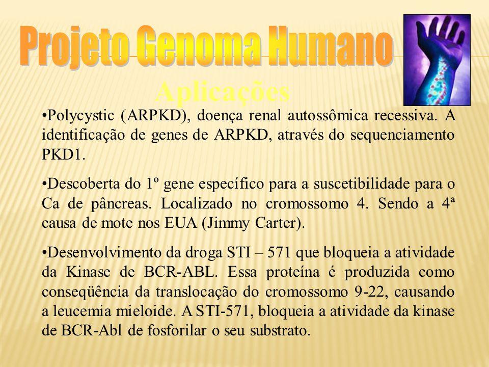Projeto Genoma Humano Aplicações