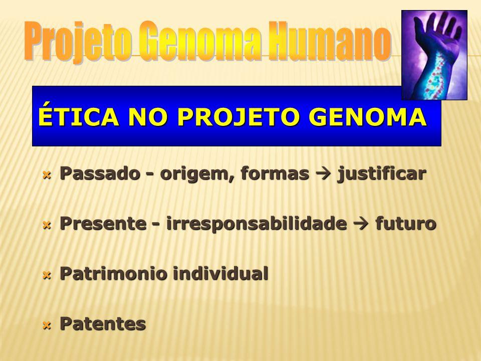 Ética no Projeto Genoma