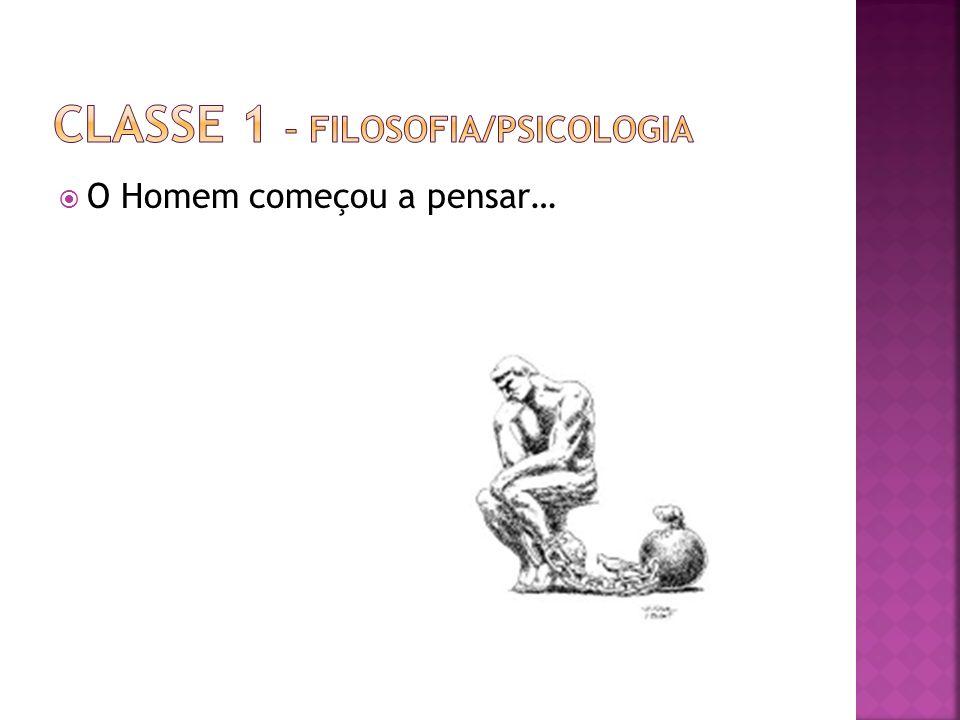 Classe 1 – Filosofia/Psicologia