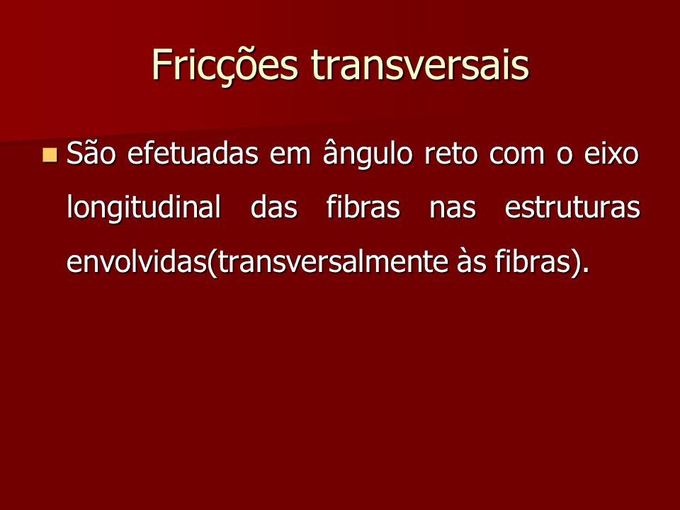 Fricções transversais