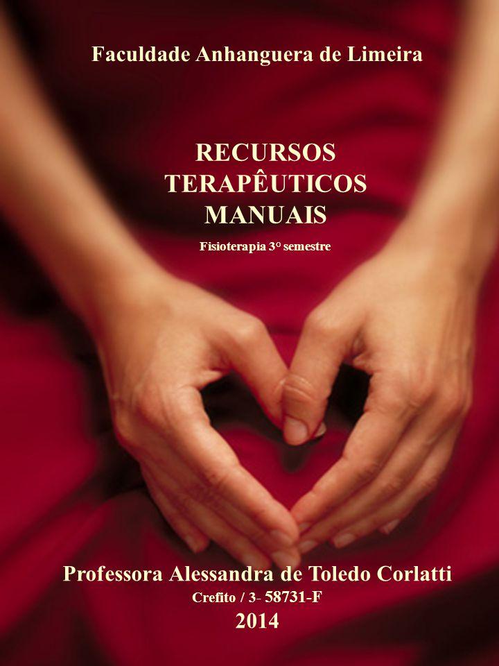 RECURSOS TERAPÊUTICOS MANUAIS