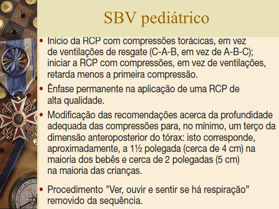 SBV pediátrico