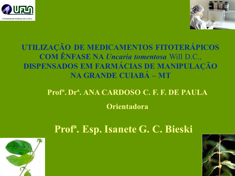 Profª. Esp. Isanete G. C. Bieski