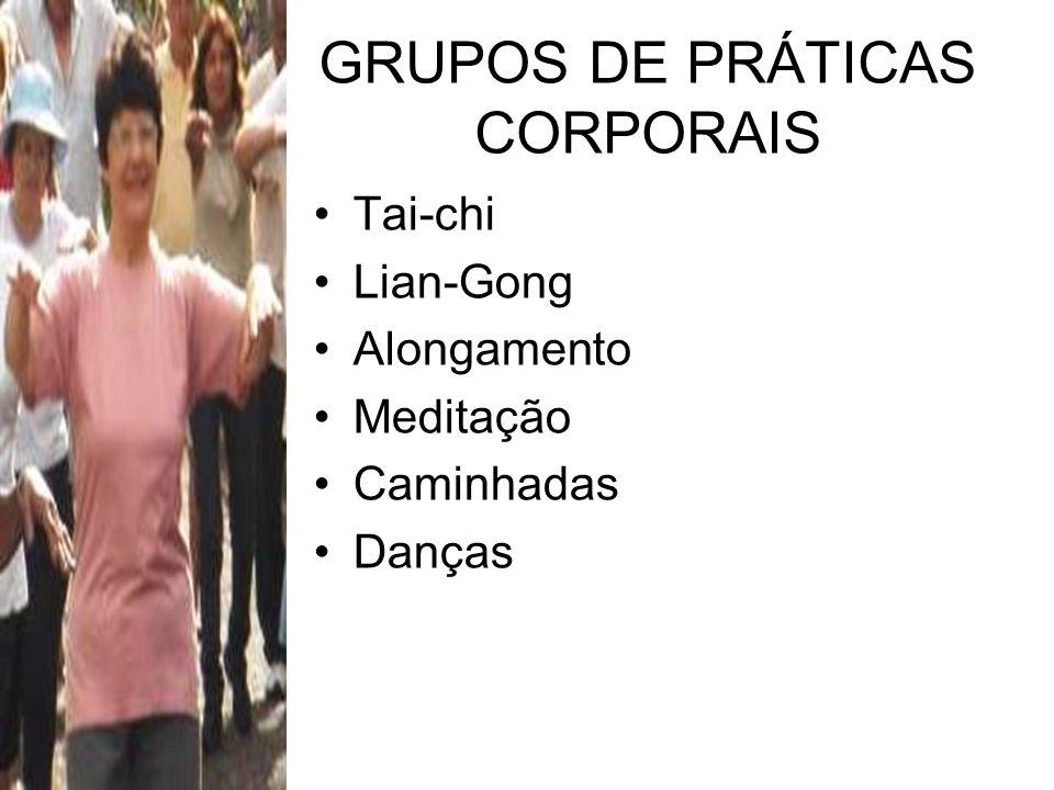 GRUPOS DE PRÁTICAS CORPORAIS