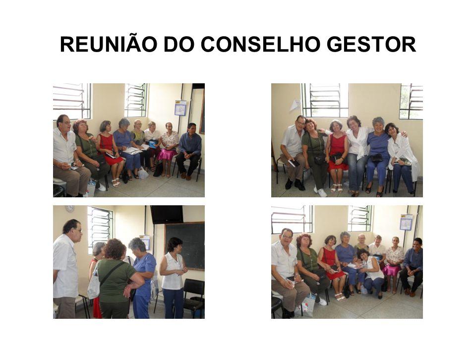 REUNIÃO DO CONSELHO GESTOR