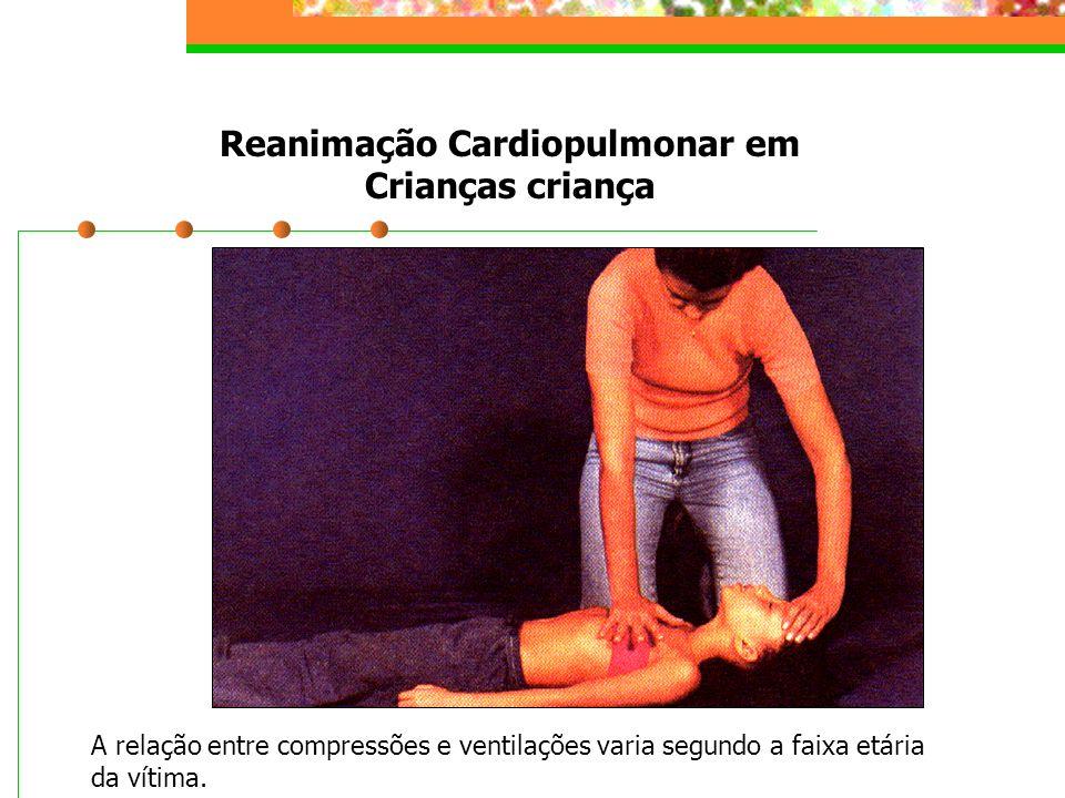 Reanimação Cardiopulmonar em Crianças criança