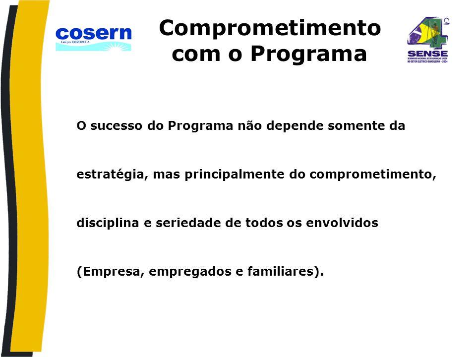 Comprometimento com o Programa