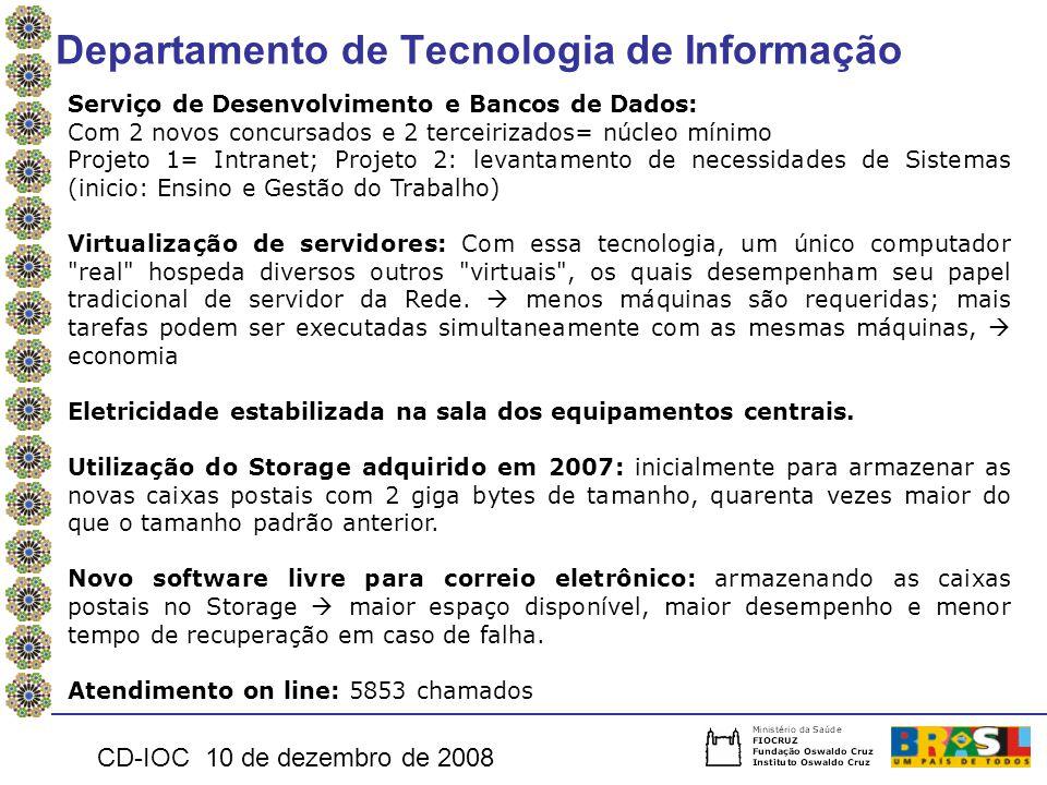 Departamento de Tecnologia de Informação