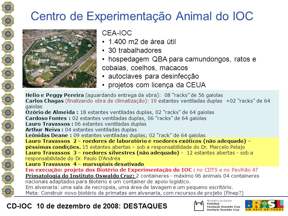 Centro de Experimentação Animal do IOC