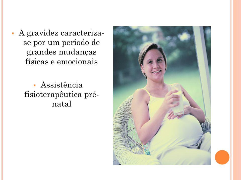 Assistência fisioterapêutica pré- natal