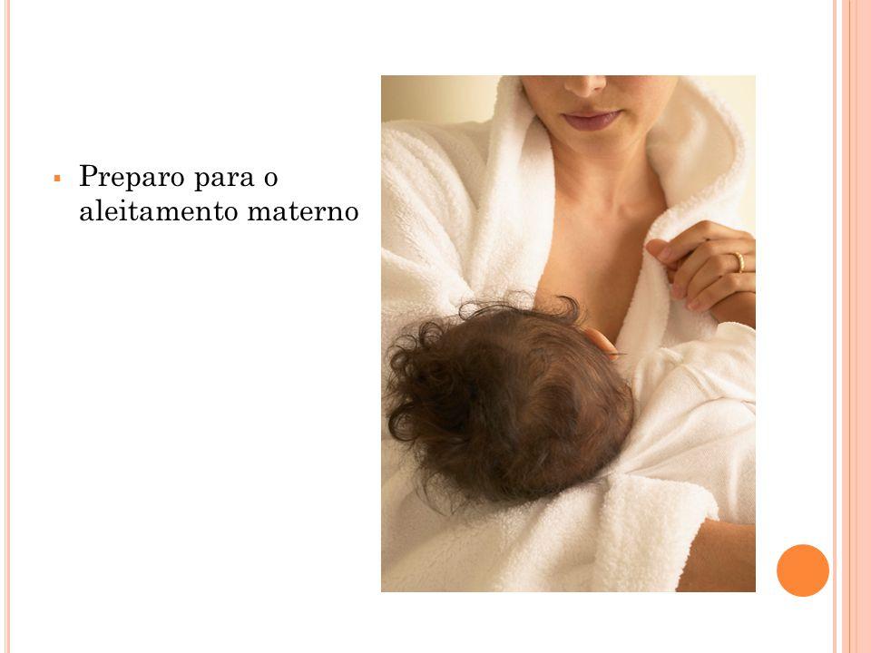 Preparo para o aleitamento materno