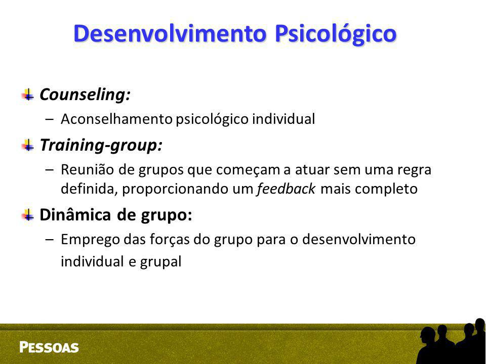 Desenvolvimento Psicológico