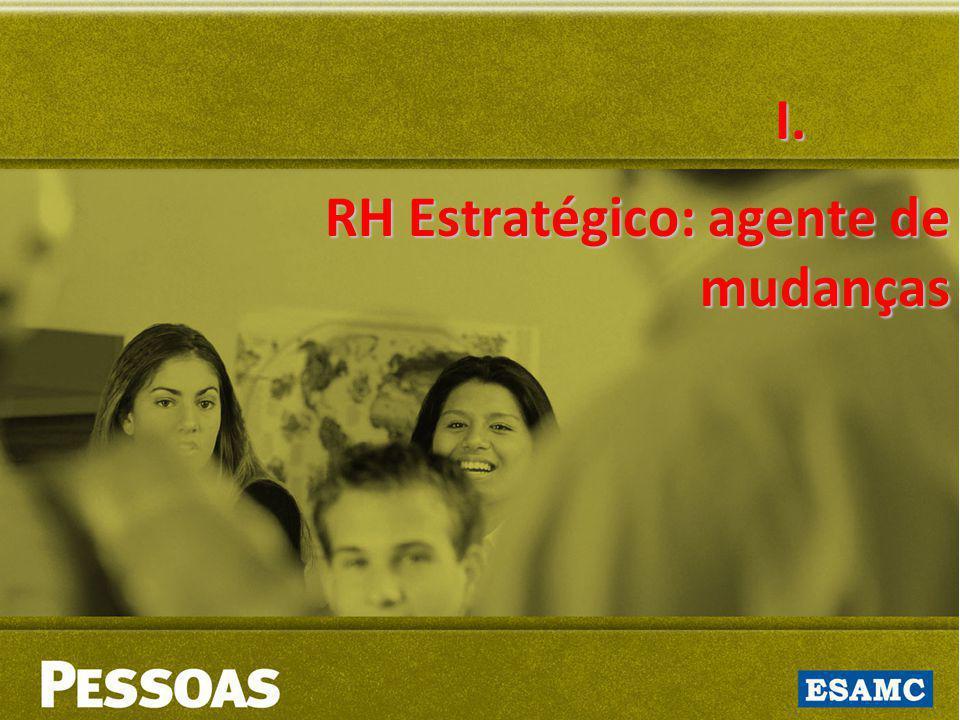 RH Estratégico: agente de mudanças