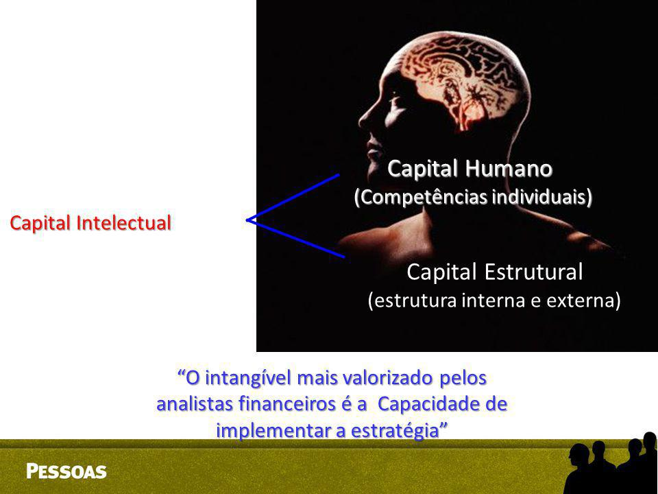 Capital Humano Capital Estrutural (Competências individuais)