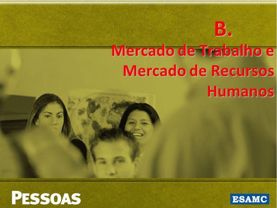 Mercado de Trabalho e Mercado de Recursos Humanos