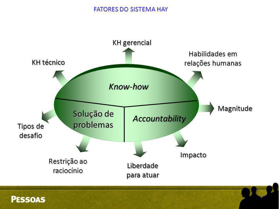 Know-how Solução de problemas Accountability KH gerencial