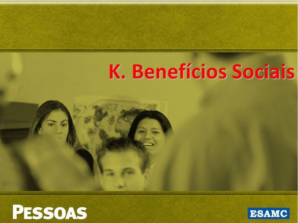 K. Benefícios Sociais
