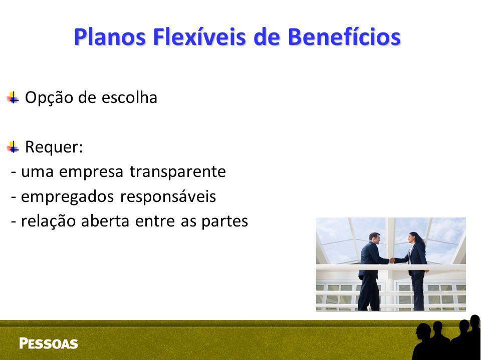 Planos Flexíveis de Benefícios